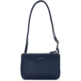 Pacsafe Stylesafe Double Zip Crossbody Bag Women navy